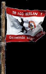 Die Fahne des Stammposten 100