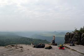 Sommerhajk 2013 Aussichtspunkt
