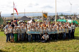 Unser Stamm auf dem Bundescamp 2014