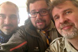 Michael, Daniel, Volker